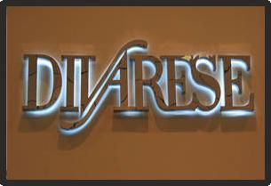 Световые объёмные буквы Divarese