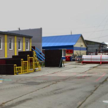 Разработка и производство -Мобильные полосы препятствий для «Сеяхинская школа-интернат»