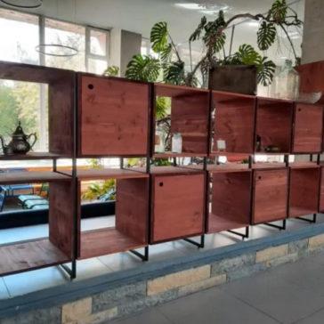мебель для подросткового клуба от компании Сложный Профиль