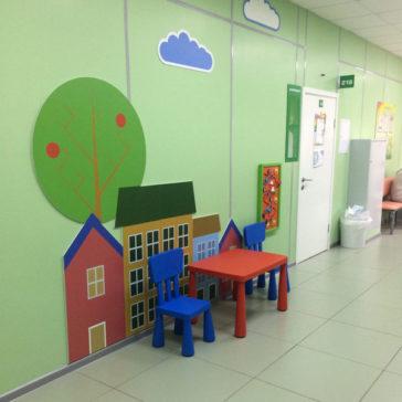 детские игровые зоны для ГДП №1 от компании Сложный Профиль